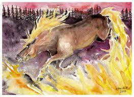 Horse of Hisi by Zaronen on Deviantart