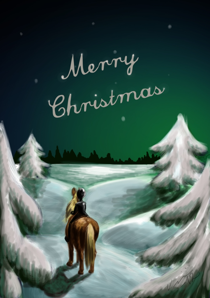 A Horse(wo)man's Christmas